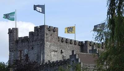 Marilyn Photograph - Castle Of The Counts Gent Belgium by Marilyn Dunlap