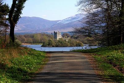 Castle On The Lakes Print by Aidan Moran