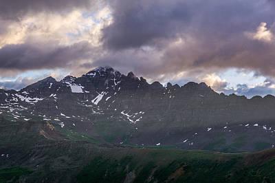Colorado Photograph - Castle Peak 2 by Aaron Spong