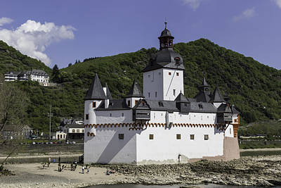 Castle Pfalz Print by Teresa Mucha