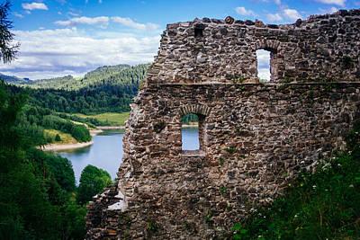 Landscape Photograph - Castle Ruins by Pati Photography