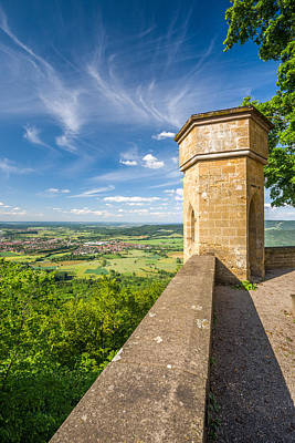 Castle View Print by Alexander Kunz