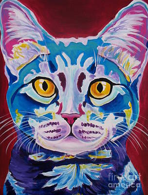 Cat - Mystery Reboot Print by Alicia VanNoy Call