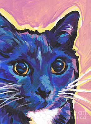 Cat Eyes Print by Lea