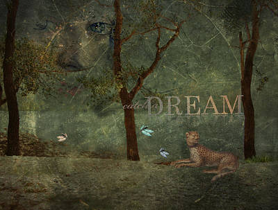 Goddess Digital Art Mixed Media - Catch A Dream by Terry Fleckney