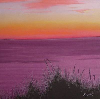 Catching The Mood At Cape Cod Bay Print by Harvey Rogosin