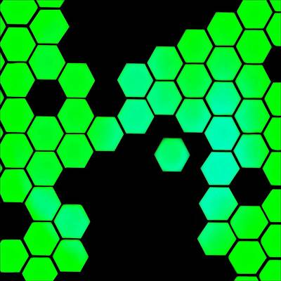 Biochemical Digital Art - Catenae One by Randolph Ping