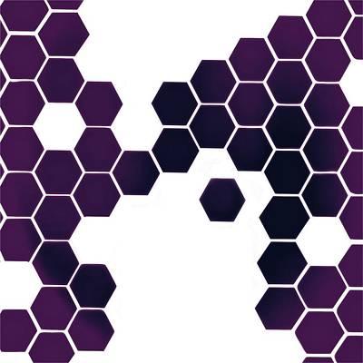 Biochemical Digital Art - Catenae Ten by Randolph Ping