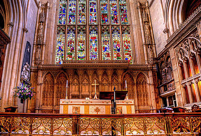 Cathedral Architecture 01 Print by Svetlana Sewell