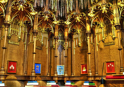 Cathedral Architecture 02 Print by Svetlana Sewell