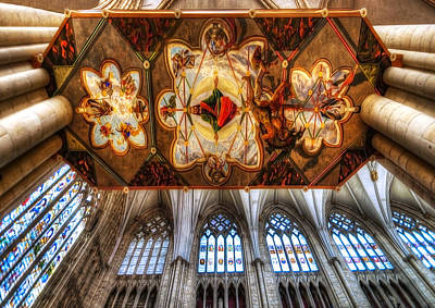 Cathedral Architecture 05 Print by Svetlana Sewell