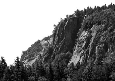 Climbing Photograph - Cathedral Ledge Bw I by Frank LaFerriere