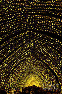 Photograph - Cathedral Of Light - Vivid Sydney by Bryan Freeman