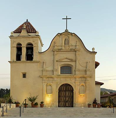 Cathedral Of San Carlos Borromeo Print by Mountain Dreams