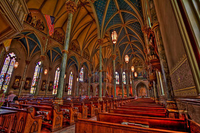 Cathedral Of St. John The Baptist Hdr Original by Jason Blalock