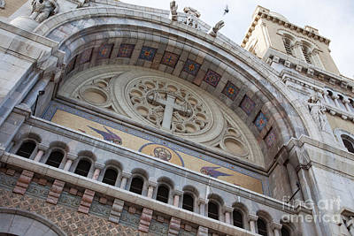 Cathedral Of St Vincent De Paul I Print by Irene Abdou