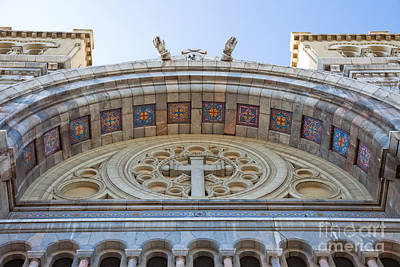 Cathedral Of St Vincent De Paul Iv Print by Irene Abdou