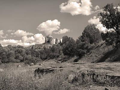 Cathedral Rock Sedona Print by Gordon Beck