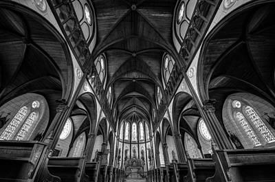 Church Pillars Photograph - Cathedral by Tomoshi Hara