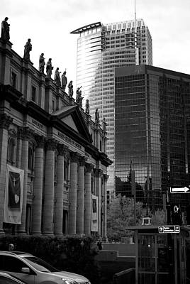 Montreal City Scapes Photograph - Cathedrale Marie-reine-du-monde by Lisa Knechtel