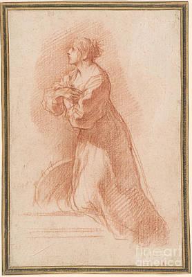 1596 Painting - Catherine Of Alexandria by Pietro da Cortona