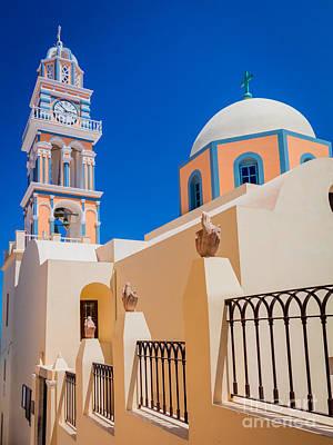 Greek Icon Photograph - Catholic Cathedral Church Of Saint John The Baptist by Inge Johnsson