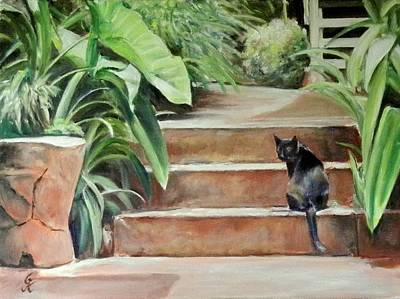 Painting - Cats Rule by George Kramer