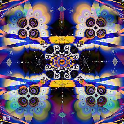 Cauliflower Digital Art - Cauliflower Galaxy by Jim Pavelle