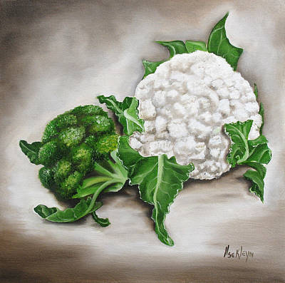 Cauliflower Painting - Cauliflower by Ilse Kleyn