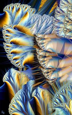 Cauliflower Digital Art - Cauliflower by Ron Bissett
