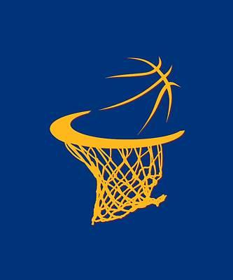 Cavaliers Basketball Hoop Print by Joe Hamilton
