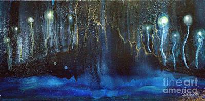 Cave Dwellers Original by Kim Peto