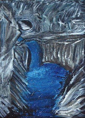 Painting - Cave Of Lights by Suzanne Surber