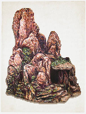 Ruins Mixed Media - Caverns by Karl Frey