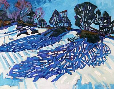 Cedar Shadows Original by Phil Chadwick