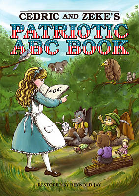Cedric And Zeke's Abc Lesson Original by Reynold Jay