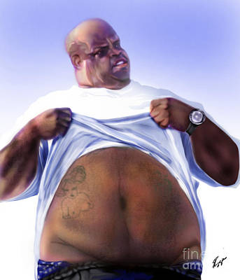 Cee Lo Green-the Day I Lost My Mind Print by Reggie Duffie