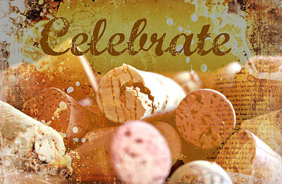 Celebrate Print by Cathie Tyler
