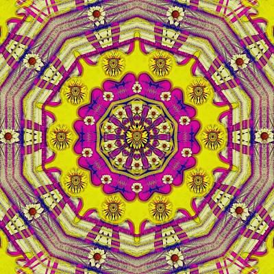 Festivale Mixed Media - Celebrating Summer In Soul And Mind Mandala Style. by Pepita Selles
