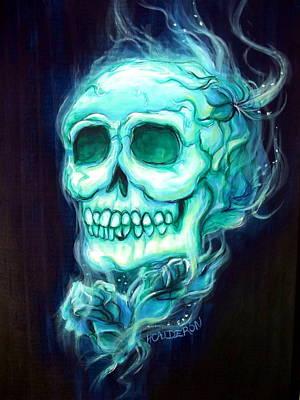 Eternal Life Painting - Celeste by Heather Calderon