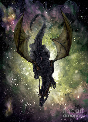 Composite Painting - Celestial Dragon by Jason Axtell