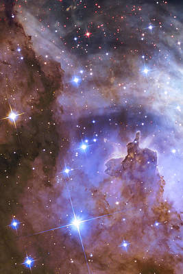 Planet Photograph - Celestial Fireworks - Hubble 25th Anniversary Image by Adam Romanowicz