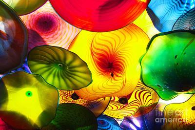 Celestial Glass 2 Print by Xueling Zou