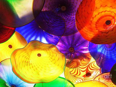 Celestial Glass 3 Print by Xueling Zou