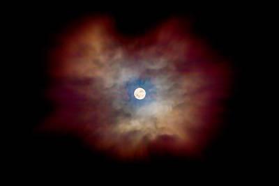 Celestial Moon Print by Az Jackson