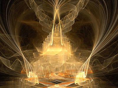 Digital Art - Celestial by R Thomas Brass