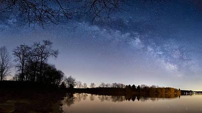 Galaxies Photograph - Celestial Sky by Bill Wakeley