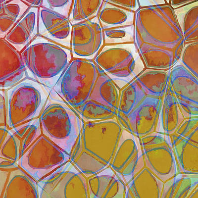 Abstract Painting - Cell Abstract 14 by Edward Fielding