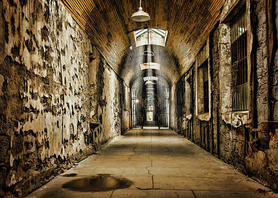 Haunted House Photograph - Cell Block 1 by Heather Applegate
