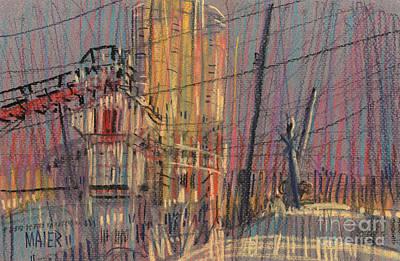 Cement Hopper II Print by Donald Maier
